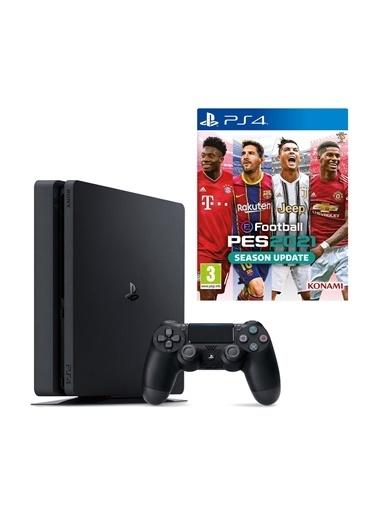 Sony PS4 Slim 1 Tb Oyun Konsolu + PS4 PES 2021 Siyah
